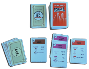 Monopoly Deal Playable Stacks