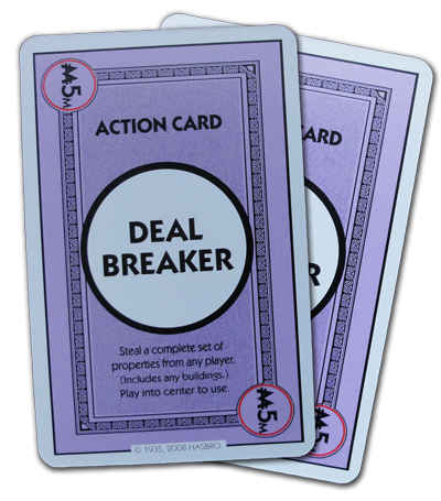 Monopoly Deal Deal Breaker Action Card