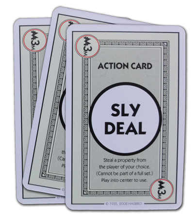Monopoly Deal Sly Deal Action Card